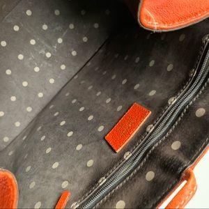 kate spade Bags - Kate Spade Deep Orange Leather Tote